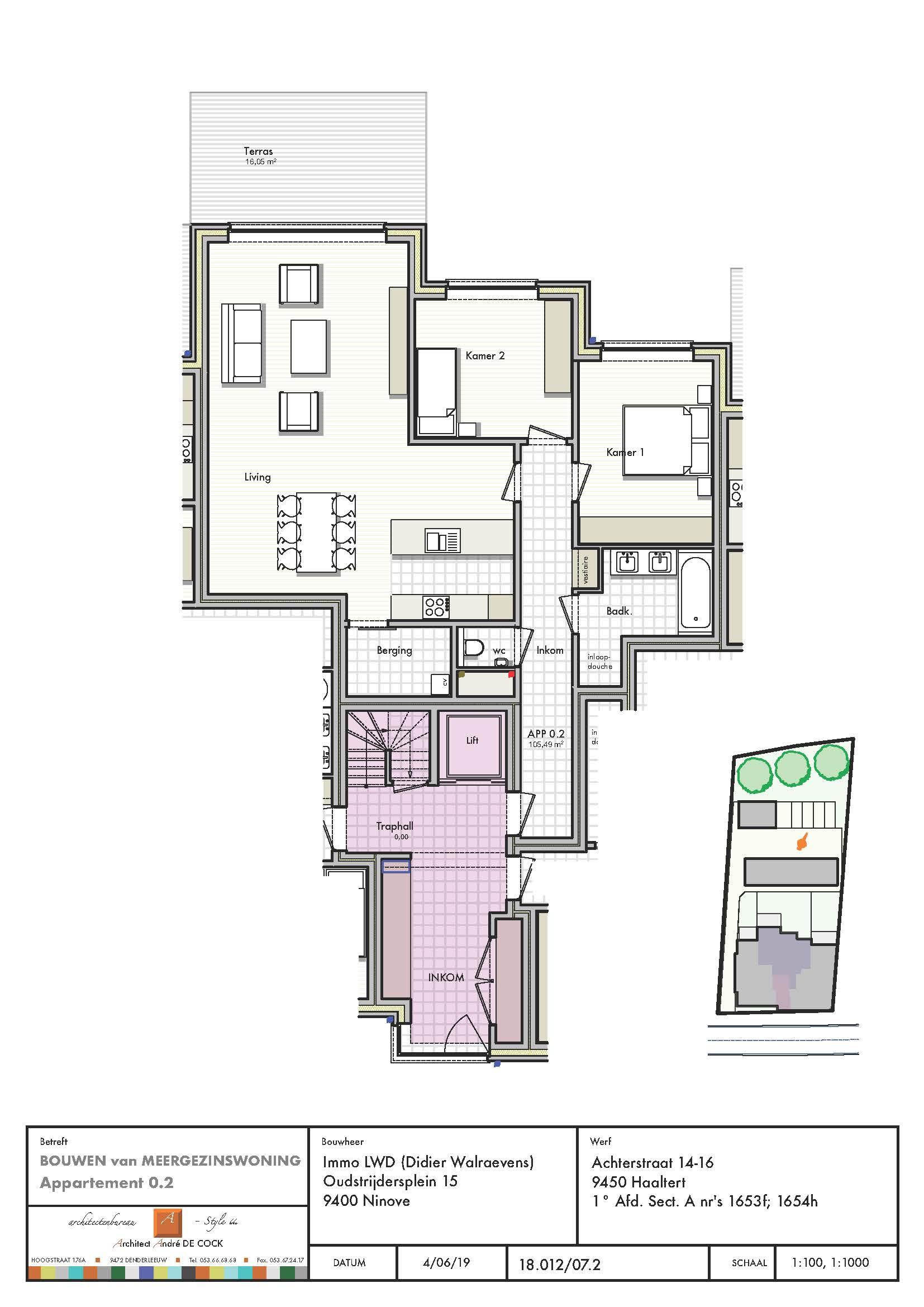 VERKOCHT - gelijkvloers appartement 2