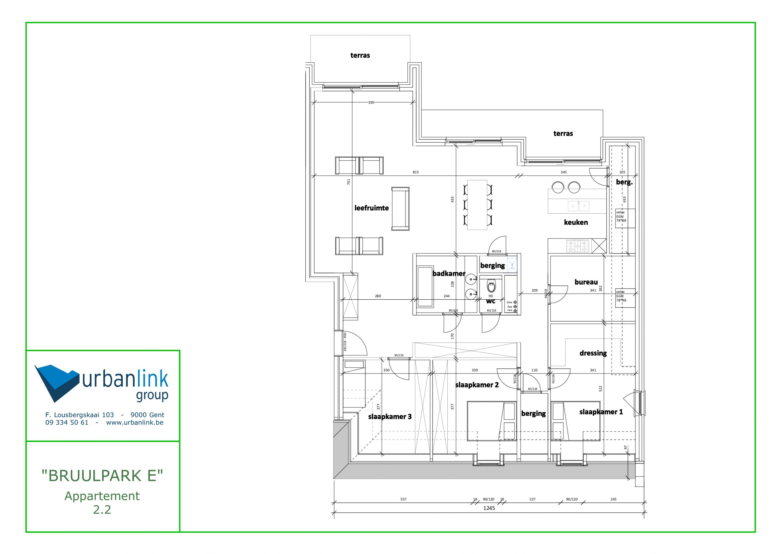 Appartement 2.2