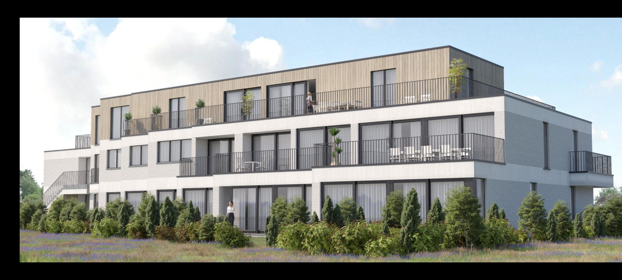 Nieuwbouw Residentie 'Cornelius' te Ninove